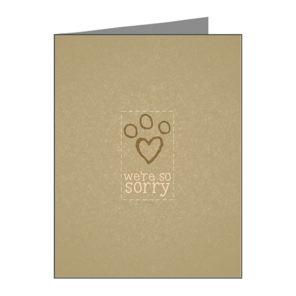 amazon com loss of pet sympathy card 12 pack health personal care