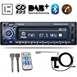 PolarLander DAB Receiver Car Radio Stereo Autoradio Support AM FM RDS Bluetooth USB SD with DAB Antenna