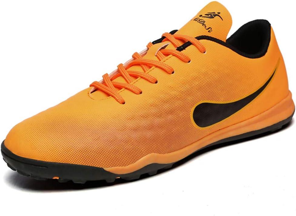 WESDE Chaussures de Foot Football Adulte Adolescents Entra/îneurs de Football FG Profession Athl/étisme Entrainement