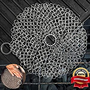Sweepstakes: EXOPAK Premium Cast Iron Cleaner. Chainmail…