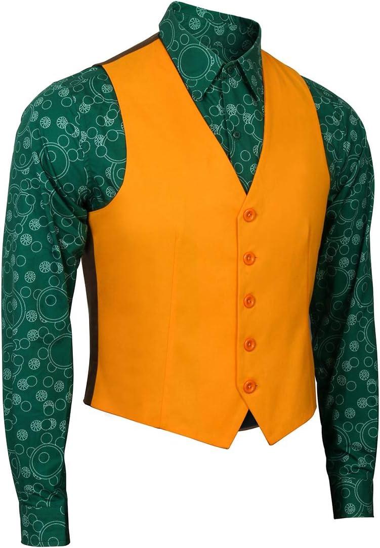 NUWIND - Disfraz de Joker para Hombre y Adulto, Chaleco, Corbata ...
