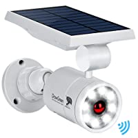 Solar Motion Sensor Light,1400-Lumens Bright LED Spotlight 5W(110W Equiv.)DrawGreen Solar Lights Outdoor Wireless Security Lighting for Porch Patio Garden,Aluminum Solar Powered Lights