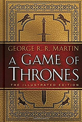book cover of A Game of Thrones