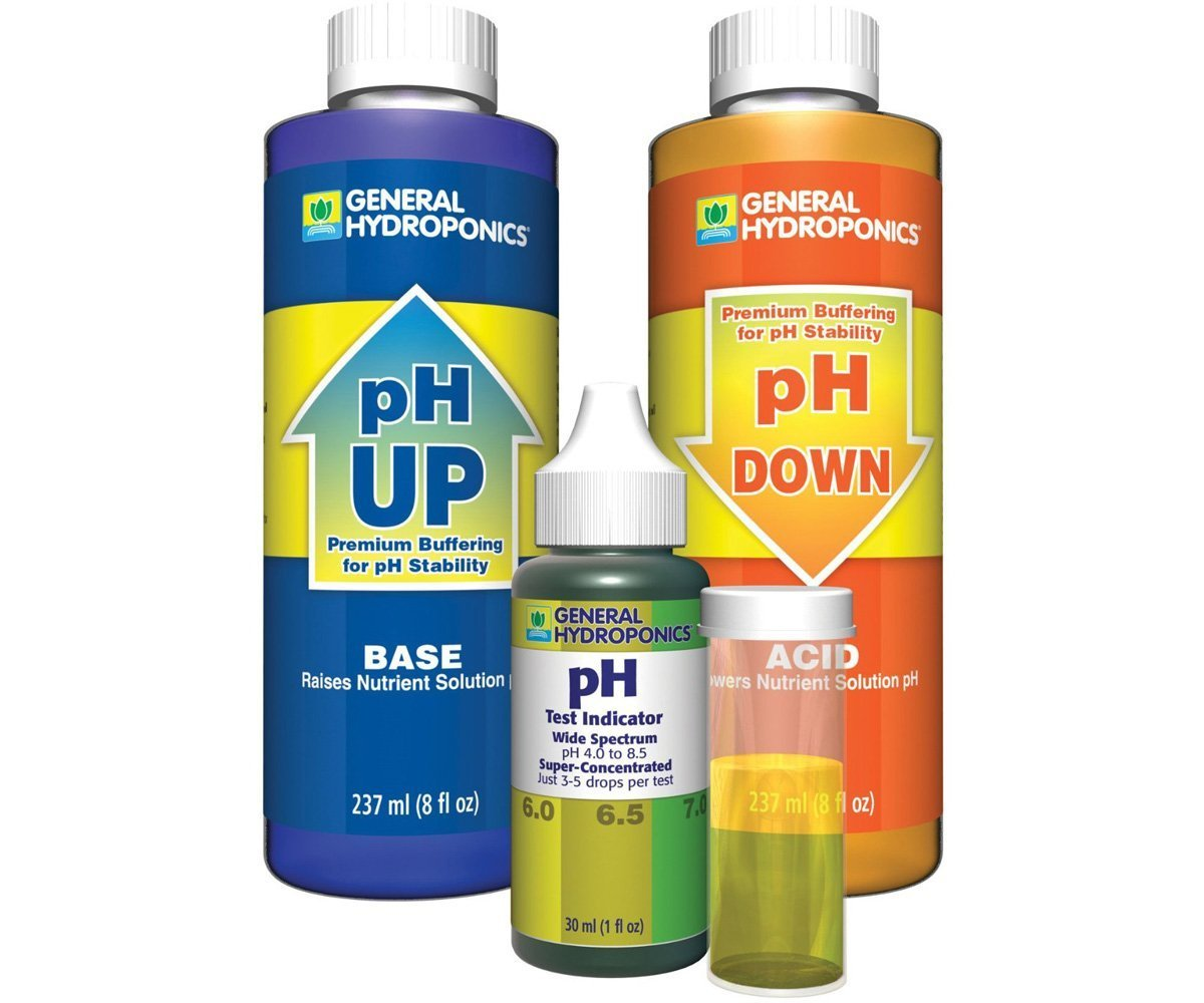 General Hydroponics GH1514 General Hydroponics Ph YowdvU Control Kit (Pack of 5) by General Hydroponics