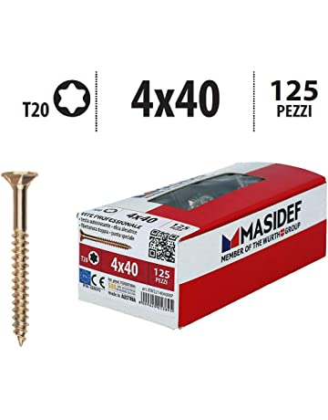 Viti per Truciolare Testa Piana TSP CR Zincate 3,5 x 25 mm confezione 500 pz