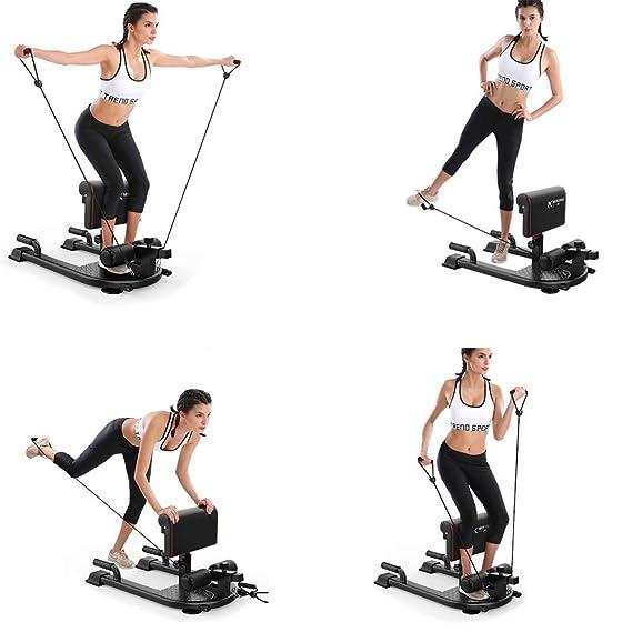 ... máquina de Ejercicios para el Ejercicio de la Cadera de la Pierna Abdominal Profunda Sissy de Gimnasio en el hogar: Amazon.es: Deportes y aire libre