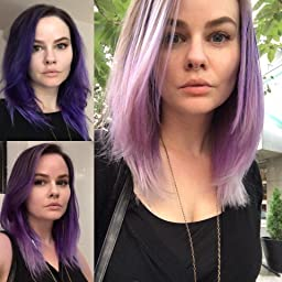 Amazon.com : Sparks Long Lasting Bright Hair Color, Purple Passion ...