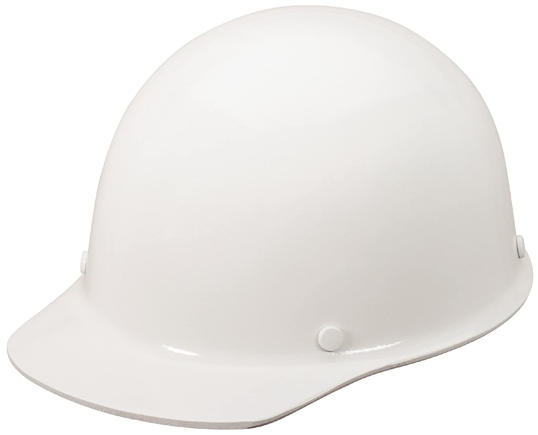 White Small Size Color MSA 462639 Phenolic Skullgard Protective Cap with Staz-On Suspension