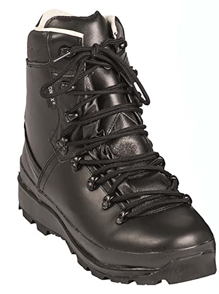 c28fea4b8e6 Mil-Tec BW German Army Mountain Boots Black