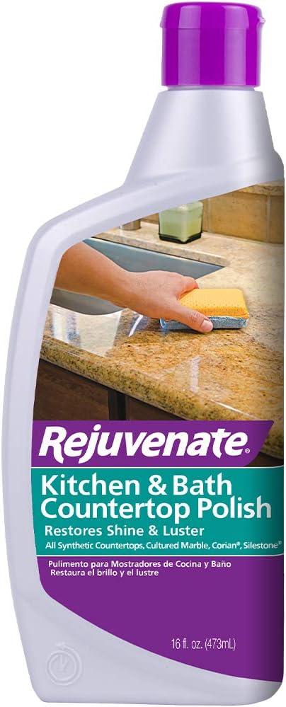 Rejuvenate Kitchen Bathroom Countertop Polish Brings Back