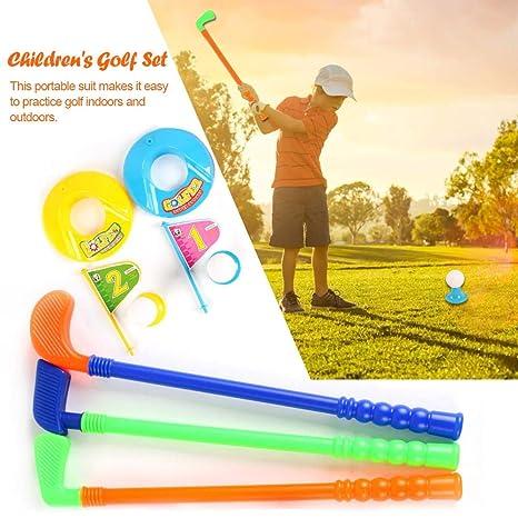 Juego de golf para niños Juego de carrito de golf para niños ...