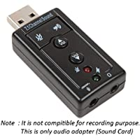 Gibbon™ 7.1 Channel USB External Sound Card Audio Adapter