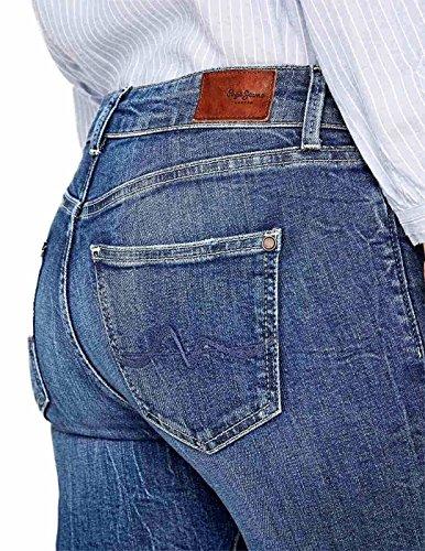 03 Mujer blue Pepe Para Jeans Pixie Vaqueros Azul nqpBw01P7B