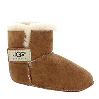 6b579f7a29c3 Ugg Australia Erin Infant  Baby Sheepskin Boots Chestnut - S  Amazon.co.uk   Shoes   Bags