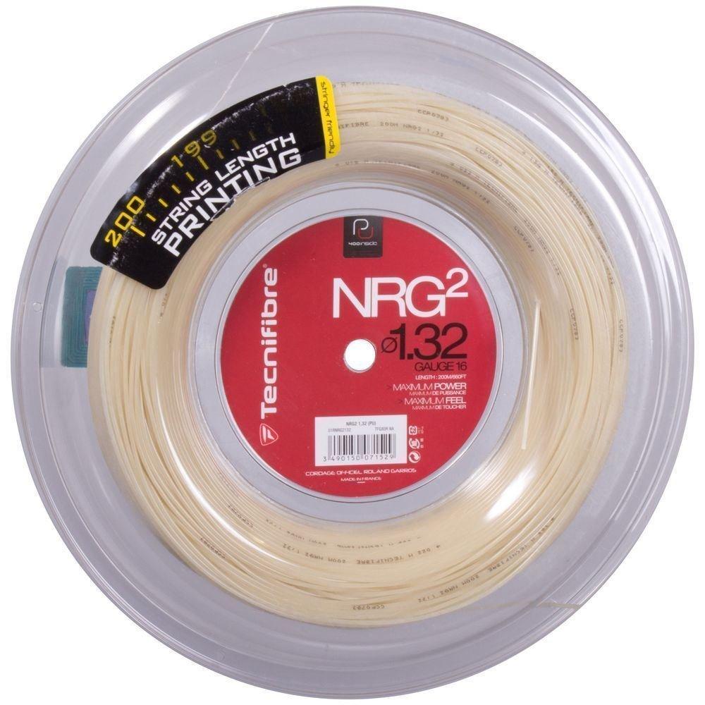 Tecnifibre NRG2 18 (1.18mm) Tennis String 200M/660ft Reel - Natural