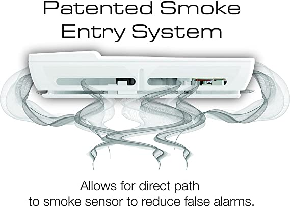 FIRST ALERT DESIGNER STYLE SMOKE AND FIRE ALARM P910 A6
