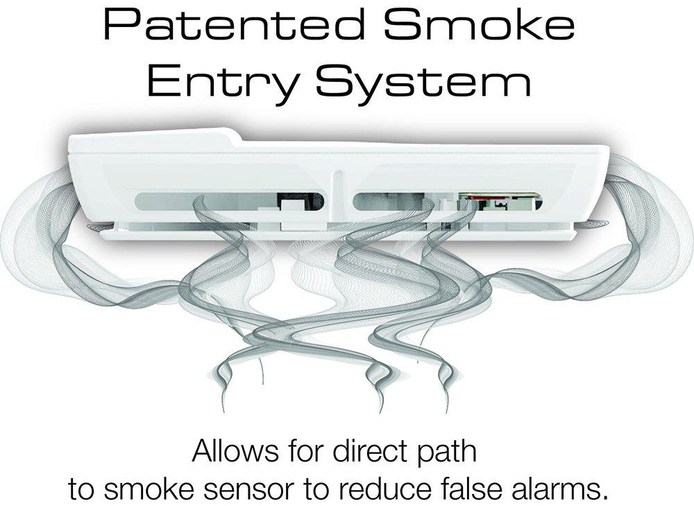 First Alert P910 máxima protección de 10 años fotoeléctrico detector de humo y fuego, color blanco: Amazon.es: Bricolaje y herramientas
