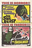 """She Beast - Authentic Original 27"""" x 41"""" Folded Movie Poster"""