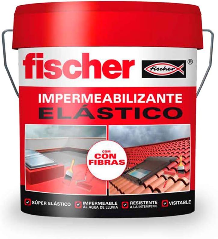 fischer - Impermeabilizante Rojo Con Fibras/ (Cubo de 20 Kg - 20 l Kg/L), 547152: Amazon.es: Bricolaje y herramientas