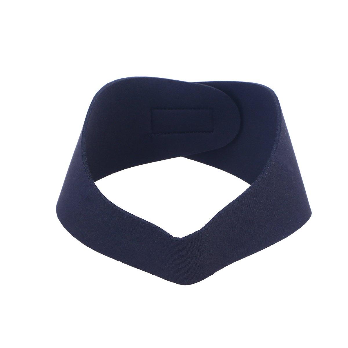 VORCOOL Schwimmen Stirnband Neopren Einstellbare Yoga Tauchen Ohren Schutz Haarband für Kinder Erwachsene (Schwarz M)
