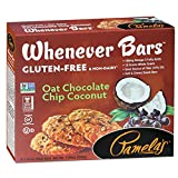 Pamela's Products Gluten Free Whenever Bars, Oat Chocolate Chip Coconut, 5 Count Box