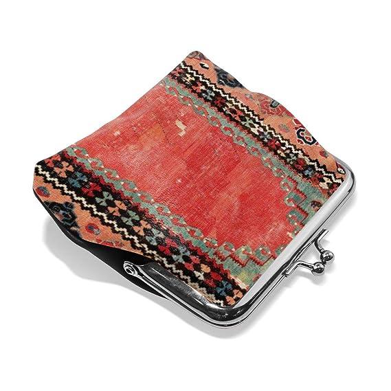 Sivas - Monedero de Piel con Hebilla, Estilo Antiguo ...