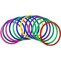 YeahiBaby Anillos de lanzamiento de plástico 12 piezas