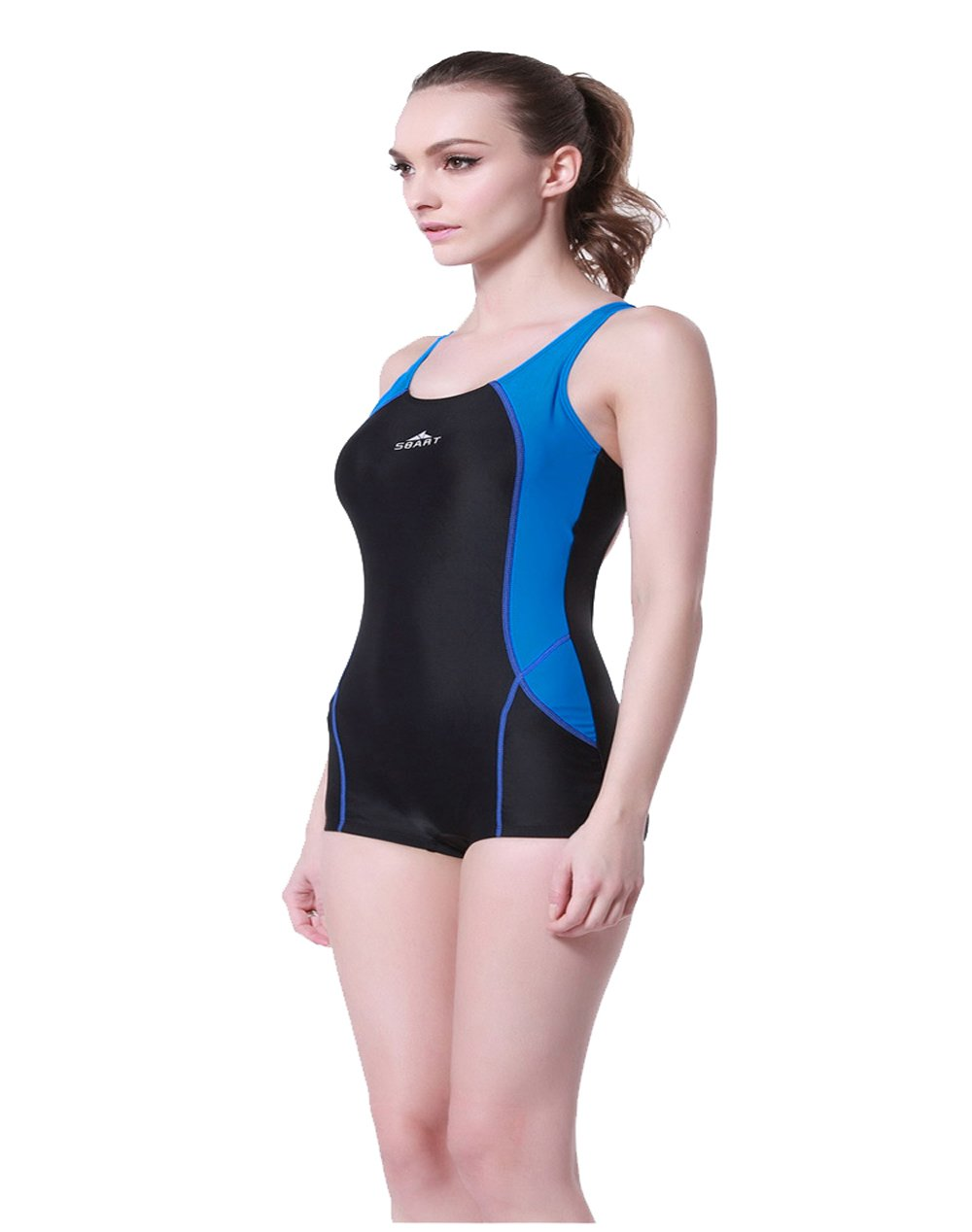 1806d333f969d Amazon.com: One Piece Swimwear Professional Sexy Swimsuits Competitive  Swimming Competition Suits for Women: Sports & Outdoors