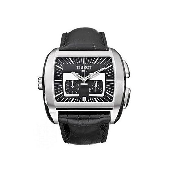 Reloj de la marca Tissot automatico de caballero correa piel: Amazon.es: Relojes