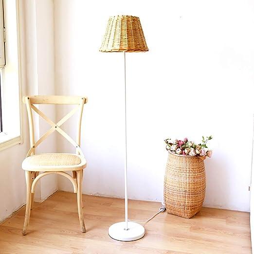 Nordic País Ins Estilo Habitación Sala Mainstay Lámpara de pie, Alto Blanco Estudio de lectura lámpara