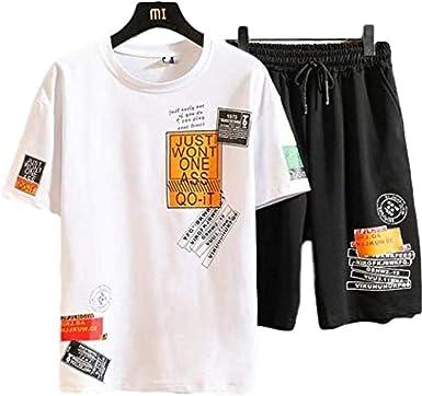 Camisa de verano para hombre con estampado de moda + ...