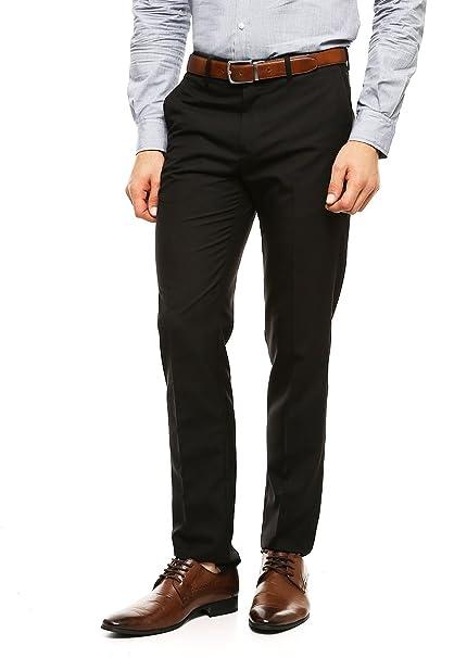 Pantalon De Vestir Negro Hombre Brcce9200 Breakfreewebcom