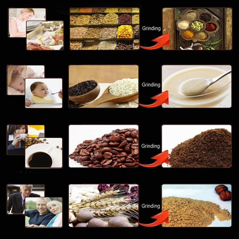 DRhomehouse 220V Mini Portatile Elettrico per caff/è in grani Spice Grinder Maker Sale Pepe Erbe Noci Spezie Mulino Grinder Blender Tool