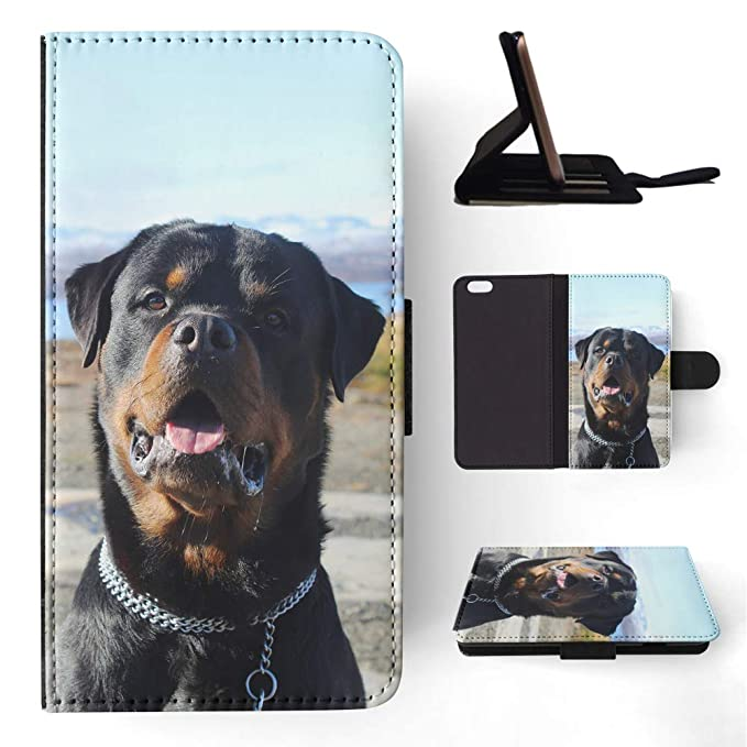 Amazoncom Rottweiler Dog 7 Flip Wallet Phone Case Cover For Apple