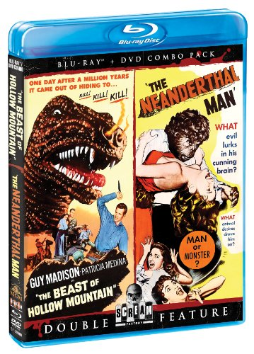 (Beast Of Hollow Mountain / The Neanderthal Man (Bluray/DVD Combo))