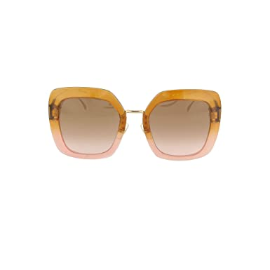 fc231be32d Amazon.com  Fendi FF0317 S Pink Brown Lens Sunglasses  Clothing