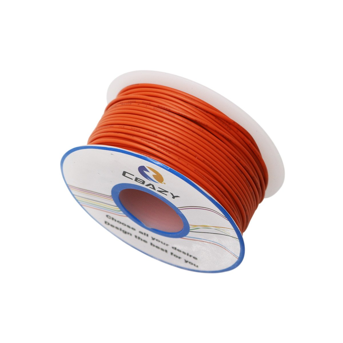 CBAZY/™ Hook up Wire 20 Gauge 1007 20AWG 23M Stranded Wire 75 Feet PVC Electrical Wire White