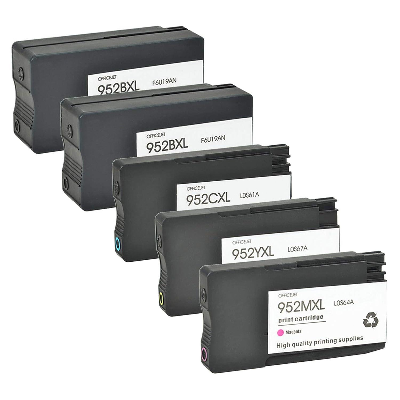 気質アップ SuperInk 7720 5パック 大容量 交換用インクカートリッジ HP 952XL 952 SuperInk (ブラック2個、シアン1個 B07HWV9ZGH、マゼンタ1個、イエロー1個) OfficeJet Pro 8710 8720 8216 7720 7740 6200 8210 8218 8700 8702 8714 プリンター対応 B07HWV9ZGH, 東区:5dac3eca --- diceanalytics.pk