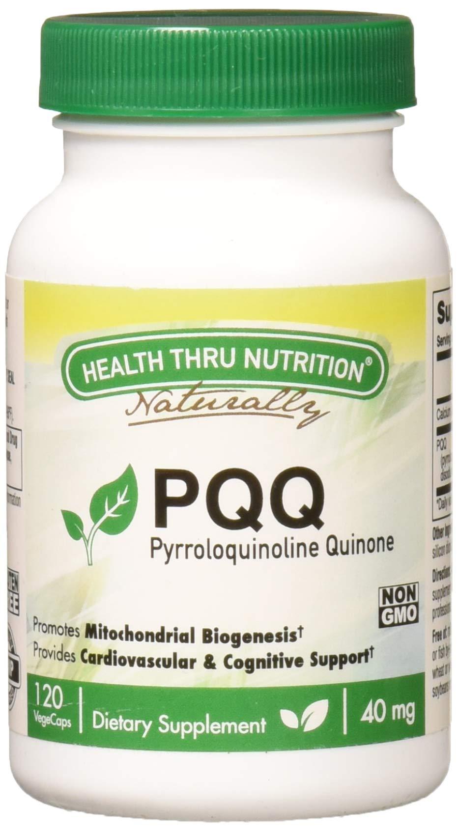 PQQ 40mg Pyrroloquinoline Quinone capsules 120 count