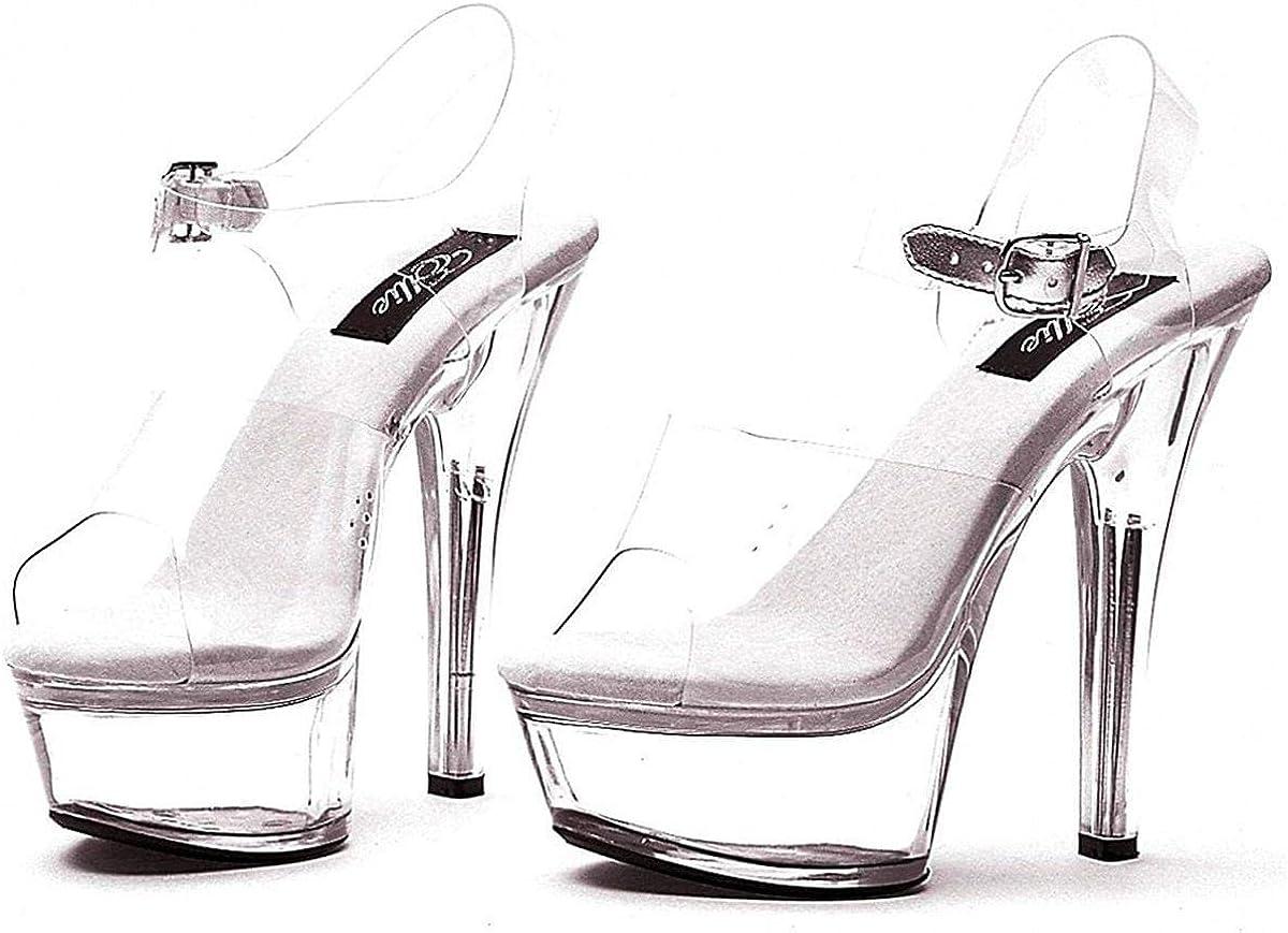 Ellie Shoes E-601-Brook 6 Heel Sandal.