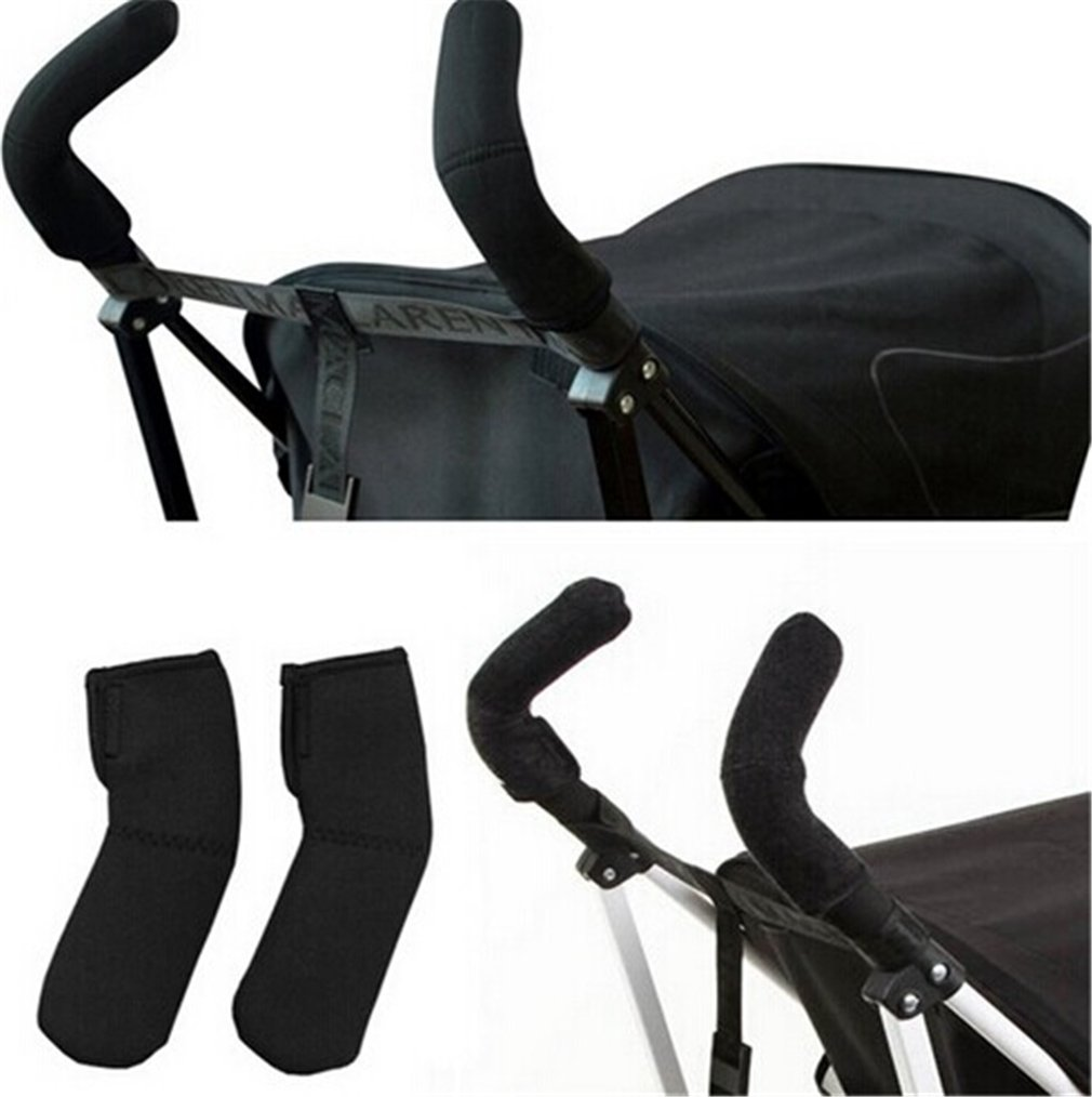1 Pair Baby Stroller Grip Cover Carriages Handle Elasticity Protector Cover mei_mei9