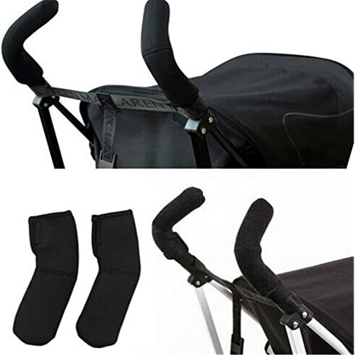 1 Pair Baby Stroller Grip Cover Carriages Handle Elasticity Protector Cover