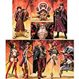 Soul web store limited Figuarts ZERO -ONE PIECE FILM Z battle clothes Ver.- gang all nine sets of straw