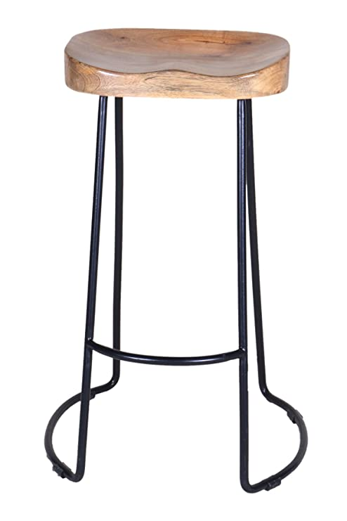 Groovy Pincha Art Crafts Brown Black Color Wooden Iron Bar Uwap Interior Chair Design Uwaporg