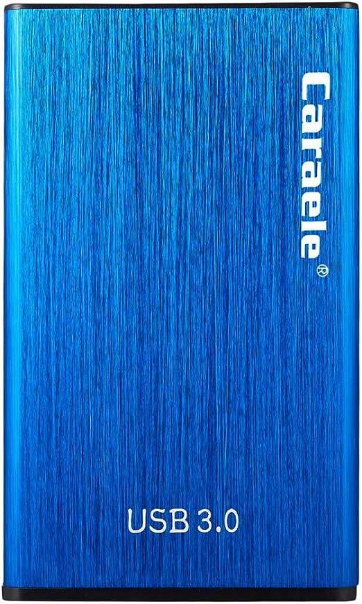 D DOLITY 外付けハードディスク 2.5インチ USB3.0 SATA HDDモバイルハードディスク 青色 - 2T