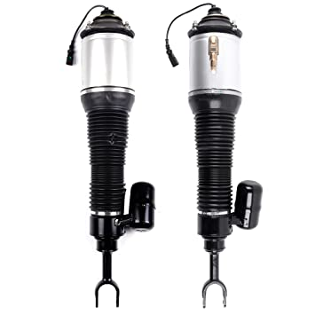 Air Suspensions Struts Spring Bags Replacement Strut Shock Absorber Airmatic Kits ECCPP fit for 2003-2012 Land Rover Range Rover Front Qty 2