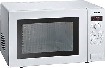 Siemens HF24M241 - Microondas, 1450 W, 230 V, Blanco, 51,3