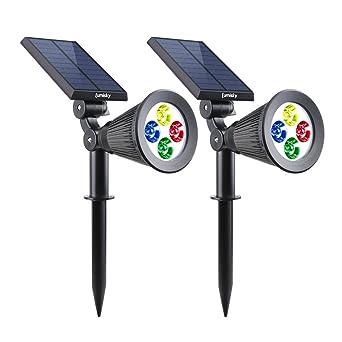 d594485569 Lumisky SPIKY C34 X2 Set de 2 Projecteur Spot Solaire 4 LED Extérieur  Etanche Lumière 2