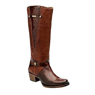 765b8ed10b8 Amazon.com | Cuadra Women Lizard Boots 2F13LT | Boots