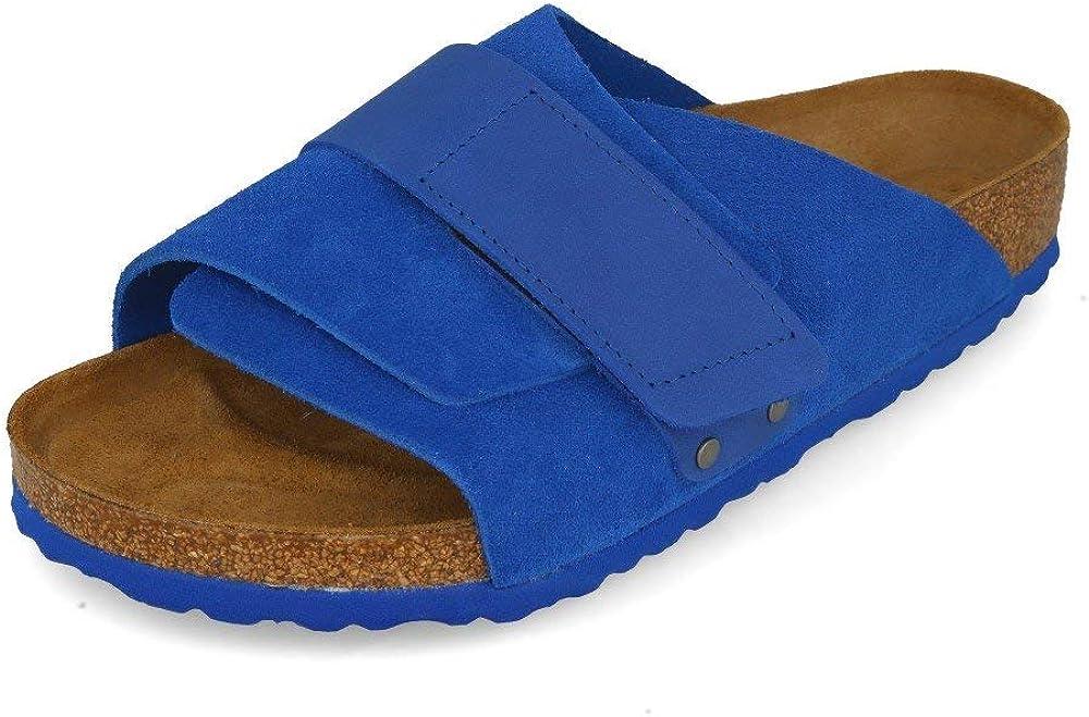 Birkenstock Kyoto VL Ultra Blue 43: : Chaussures et